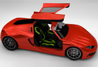 SolidWorks 2013 model